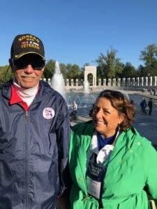 Jim and Darcy at Honor Flight