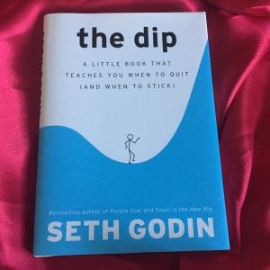 Darcy's Book Club-The Dip by Seth Godin