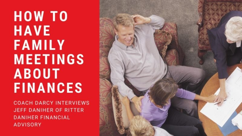 How to have family meetings about finances
