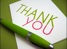 How to get noticed: write a thank you note | Red Cape Revolution