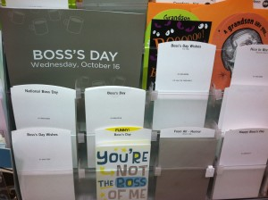 How to be the boss of you
