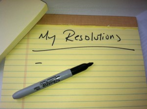 My new year's resolutions--NOT