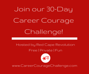 join our career courage challenge