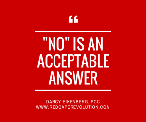 No is an acceptable answer; Darcy Eikenberg