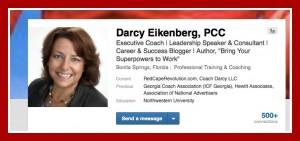 Darcy Eikenberg's LinkedIn profile