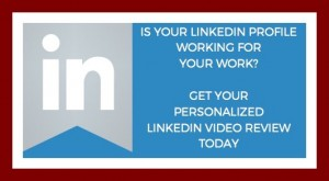 is your linkedin profile working