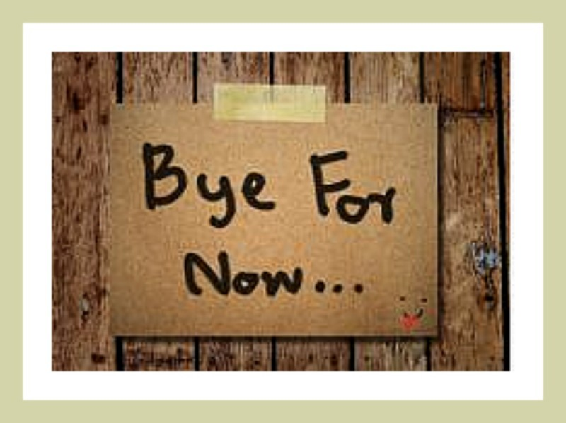 leaving your job- your farewell matters