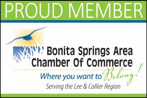 Proud Member of Bonita Springs Chamber (FL)