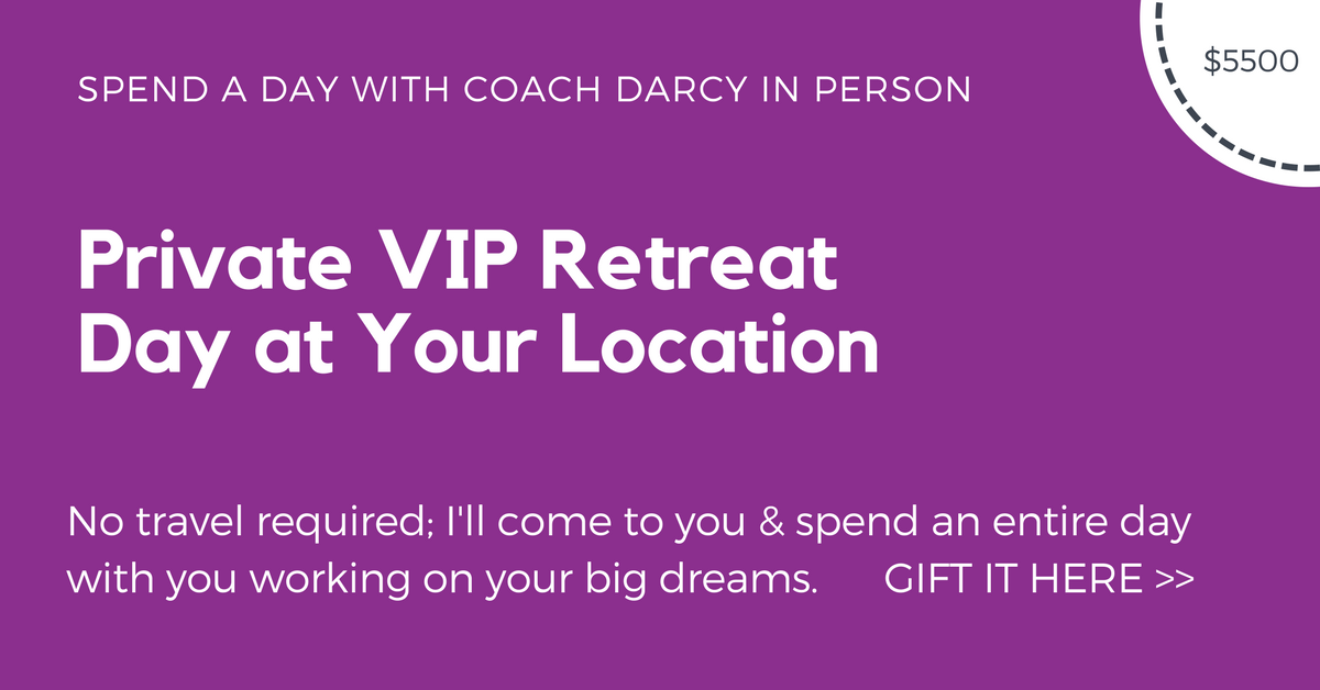 Private VIP Retreat Day at Your Location
