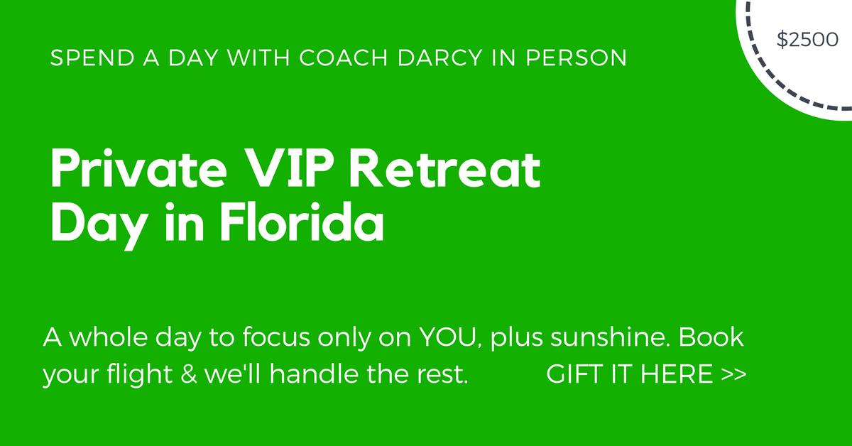 Private VIP Retreat Day in Florida