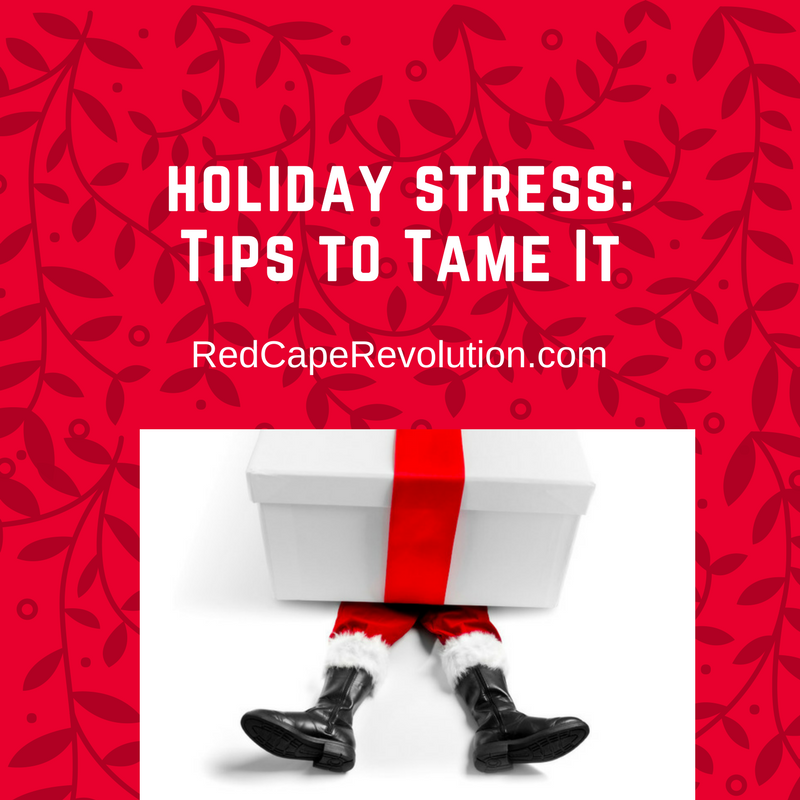 Holiday Stress: Tips to Tame it (Today) by Darcy Eikenberg, PCC