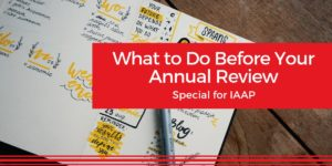 What to Do Before Your Annual Review _ Red Cape Revolution