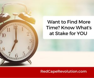 Want to Find More Time (FB) _ Red Cape Revolution