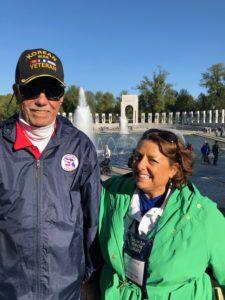 Jim and Darcy at Honor Flight