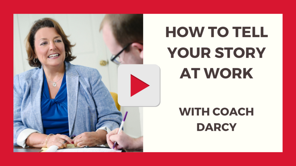 How to Tell Your Story at Work with Coach Darcy Red Cape Revolution-1