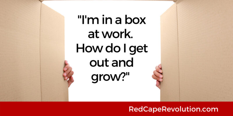 In a box at work-how do I grow Red Cape Revolution